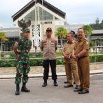 Kapolres Sanggau Sambut Kedatangan Sembilan WNI di PLBN Entikong