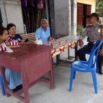 Brigadir Martono Sambangi Warga Desa Binaan dan Berikan Himbauan Kamtibmas