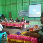 Bhabinkamtibmas Hadiri Penyuluhan Narkoba di Gedung Angsadipa Desa Tanjung Merpati