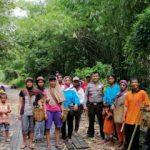 Melalui Sambang, Brigpol Florianus Suryadi Himbau Stop Pembakaran Hutan dan Lahan