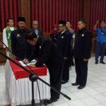 Bupati Sanggau Lantik 17 Penggurus FKUB