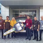 Penyerahan Grand Prize Simpedes Semester I Tahun 2019 BRI Cabang Sanggau