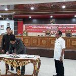 DPRD Sanggau Gelar Rapat Paripurna Pertama, Tetapkan Delapan Fraksi