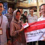 Bupati Sanggau Launching Program Bantuan Pangan Non Tunai