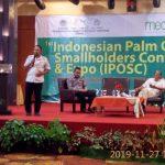 Bupati Sanggau Menjadi Narasumber di Kegiatan 1st Indonesian Palm Oil Smallholders Confrence and Expo 2019