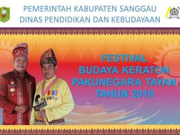 Festival Mandi Bedel Keraja dan Perang Ketupat Pakunegara Tayan Tahun 2019