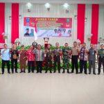 Ramah Tamah Pangdam XXI Tanjungpura dengan Forkopimda, Tokoh Masyarakat, Tokoh Agama dan Tokoh Adat Kab. Sanggau.