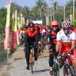 Bangun Sinergitas Kapolda Kalbar dan Pangdam XII/Tpt Kembali Bersepeda Santai