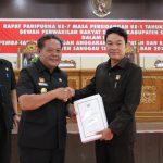 Bupati Sanggau Sampaikan Pengantar Nota Keuangan Rancangan APBD 2020