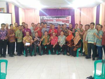 Konsultasi Publik dan Sosialisasi Rancangan Peraturan Daerah Kabupaten Sanggau Tahun 2019