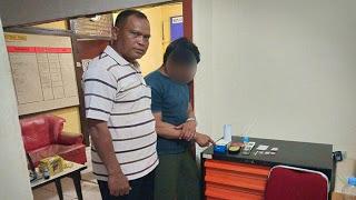 Polsek Kapuas Amankan Pelaku Tindak Pidana Narkotika Jenis Shabu