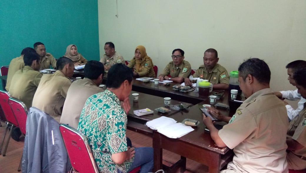 Rapat Koordinasi Petugas Peternakan Kecamatan Dalam Rangka Persiapan SABER 24