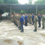 Satuan Polisi Pamong Praja Kabupaten Sanggau Melaksanakan Kegiatan Samapta Praja Wibawa
