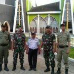TNI/Polri, Satpol Pp dan Dishub Amankan Perayaan Paskah di Sanggau