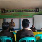 Bhabinkamtibmas Hadiri Acara Pembentukan Panitia Pemilihan Kades Balai Sebut Kecamatan Jangkang