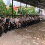 Kabag Ops Polres Sanggau Mengingatkan Anggota Staf Bag Ops Polres Sanggau