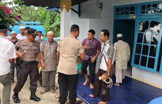 Kapolres Sanggau Takziah ke Rumah Almarhum Purnawirawan Polri