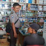 Polsek Meliau Jaga Kamtibmas dengan Laksanakan Polisi Bepadah