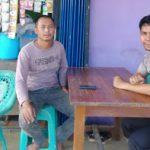 DDS di Desa Binaannya Bhabinkamtibmas Sampaikan Pesan Kamtibmas
