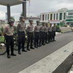Satuan Sabhara Polres Sanggau Melaksanakan Patroli Sepeda