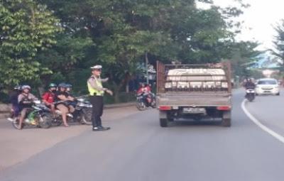 Polisi Laksankan Strong Poin Hari Minggu