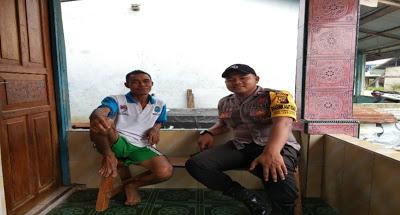 Bersama-Sama Menjaga Kamtibmas, Brptu Ali Solikin Sampaikan Melalui Sambang
