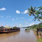 Kapolres Sanggau Hadiri Festival Mande' Bedil Keraja dan Perang Ketupat
