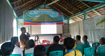 Hadirnya Bhabinkamtibmas Dalam Kegiatan Bintek Ketua RT