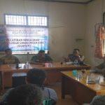 Bhabinkamtibmas Hadiri Penyuluhan Lingkungan Hidup di Desa Maju Karya
