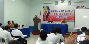 30 Kepsek di Sanggau Ikuti Diklat Penguatan