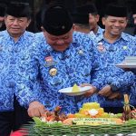 Peringatan HUT Korpri ke-48, Bupati Sanggau Ajak Pegawai Laksanakan Pesan Presiden RI