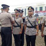 Kapolres Sanggau Pimpin Sertijan Kasat Reskrim dan Dua Kapolsek