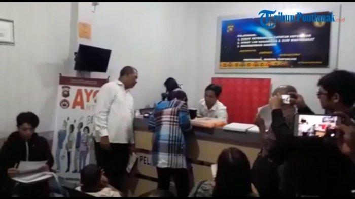 VIDEO: Suasana di Ruangan Tempat Pembuatan SKCK Polres Sanggau