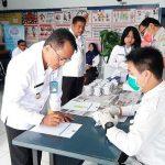 Tidak Ingin Kecolongan, 23 Pegawai BNNK Sanggau Jalani Urin