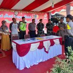 Kabag Ops Polres Sanggau Cek Pos Terpadu Pujasera