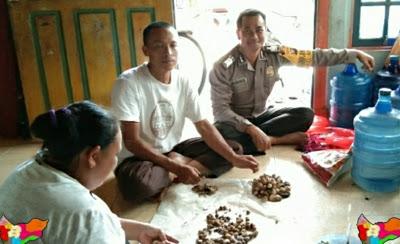 Bripka Darmawan Melaksanakan DDS ke Rumah Warga Binaan