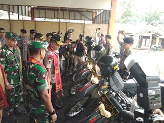Kapolda Kalbar dan Pangdam Tanjungpura Cek Kesiapan Pengamanan Pilkada di Bengkayang