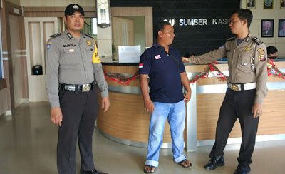 Anggota Polsek Toba Laksanakan Patroli Dialogis di Kantor CU