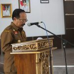 Wabup Menyampaikan Pendapat Akhir Bupati Sanggau Terhadap Tiga Raperda Kabupaten Sanggau TA. 2019