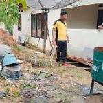 Dengan Program Jumat Bersih Kapolsek Tayan Hilir Pimpin Giat Korve Lingkungan Mapolsek