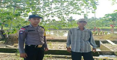 Bripka Mangun Suwarno Patroli Dialogis Serta Sampikan Himbauan Kamtibmas