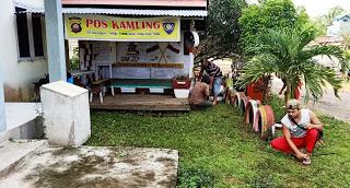 Kapolsek Toba Ipda Supariyanto Pimpin Kurve Pos Kamling