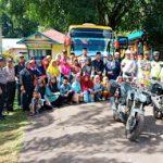 Kaposek Toba bersama Muspika Toba Pimpin Pelepasan Kontingen MTQ Kecamatan Toba