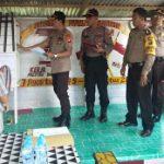 Wadir Narkoba Polda Kalbar Supervisi dan Asistensi Program Desa Mandiri di Kecamatan Toba