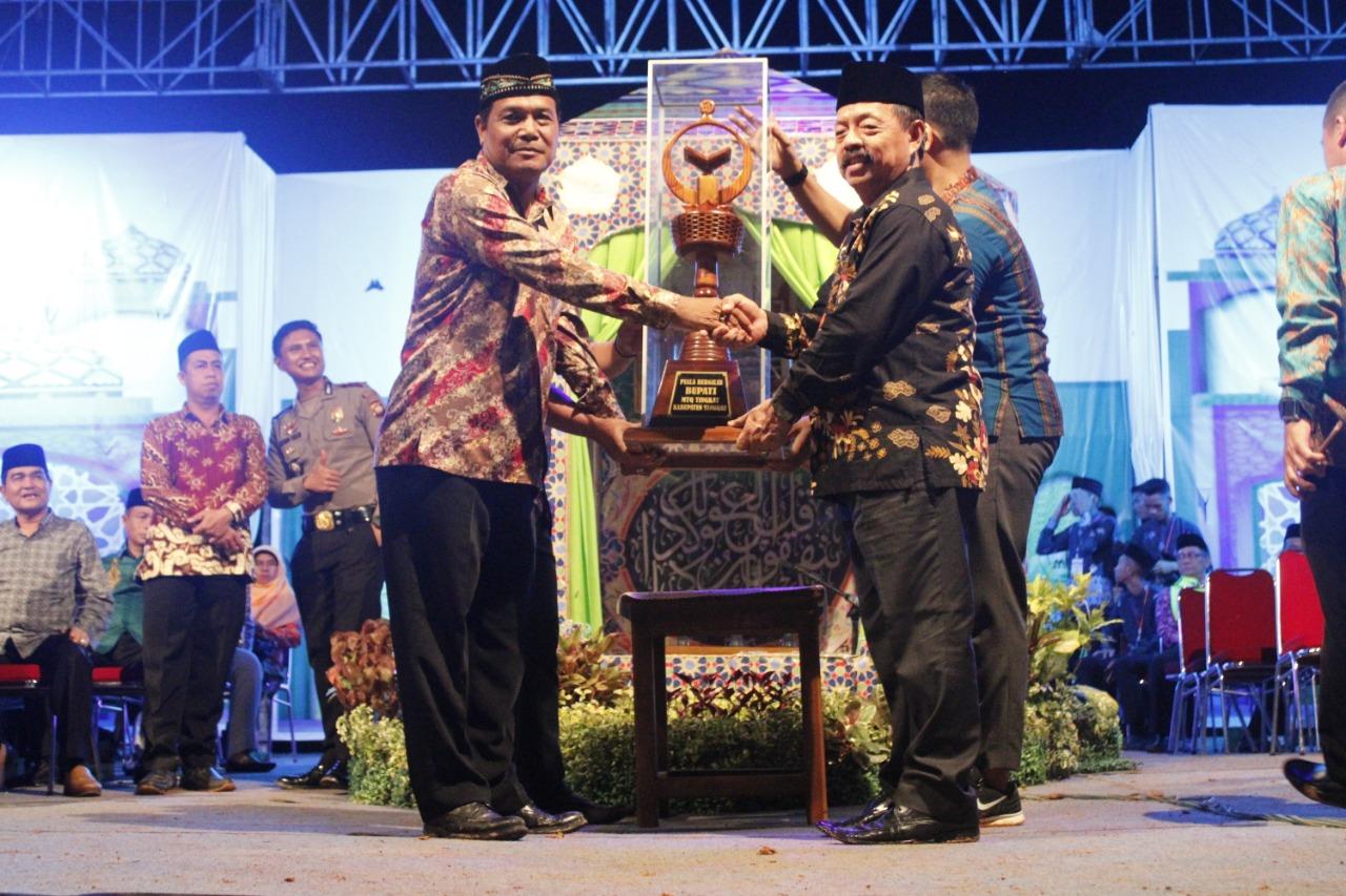 Penutupan MTQ XXVIII Tingkat Kabupaten Sanggau Tahun 2019, Lagi dan Lagi Kecamatan Meliau Meraih Juara Umum