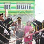 Upacara Farewell Pelepasan Kapolres Lama AKBP Imam Riyadi