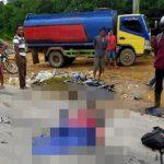Lakalantas di Sanggau, Pengendara Sepeda Motor Tewas