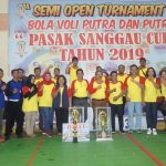 Wabup Berharap Turnamen Bola Voli Pasak Sanggau Cup Kedepan Dapat Menjadi Turnamen Tingkat Kalbar