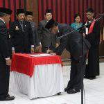 Bupati Sanggau Resmi Melantik Ir.Kukuh Triyatmaka, MM Sebagai Sekda Kabupaten Sanggau