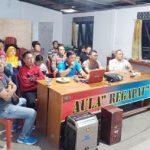 Keluarga Besar Polsek Sekayam Gelar Nobar Film Surga Kecil di Bondowoso
